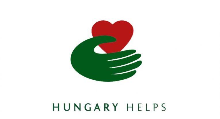Hungary Helps logo