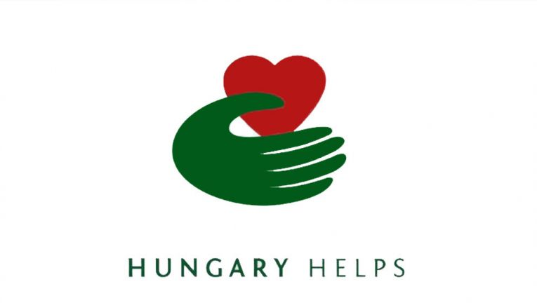 Hungary Helps logo