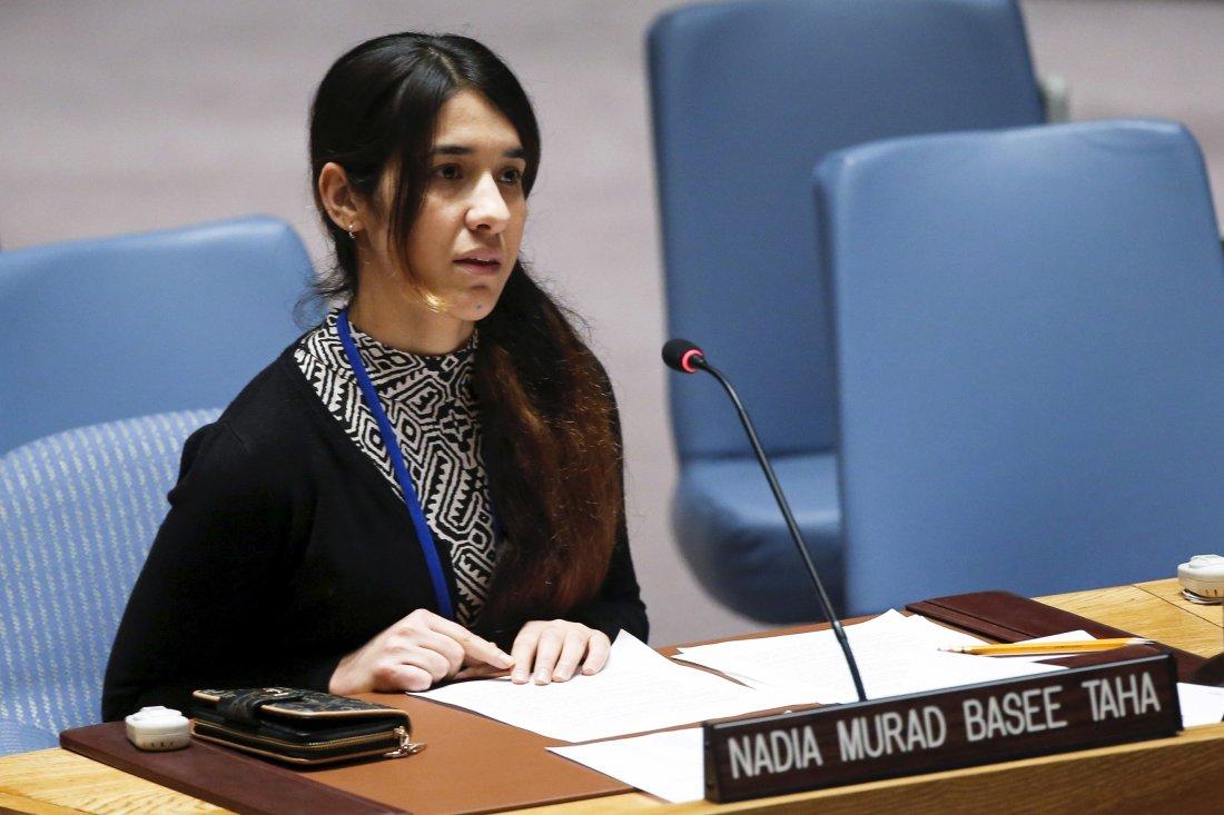 Nadia Murad az ENSZ-ben
