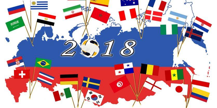 Foci vb, 2018 zászlók