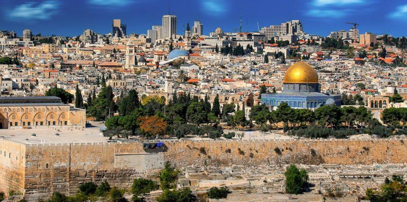 izrael látkép