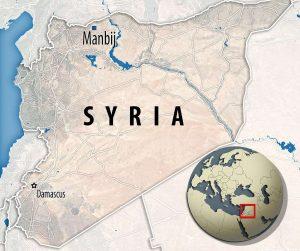 Az ősi templomot észak-szíriai Manbedzs város közelében fedezték fel.