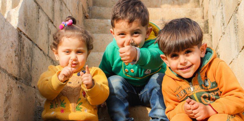 arab kisgyerekek