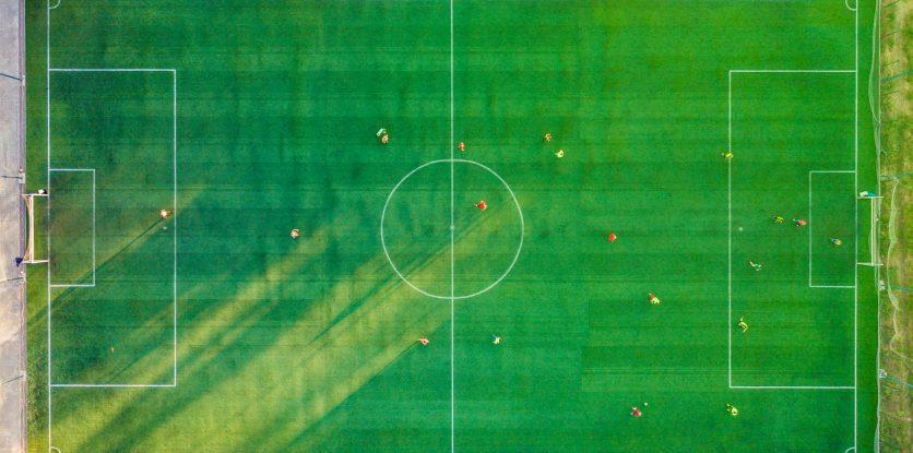 foci pálya felülről