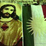 A nap képe: Jézus és a kurd zászló az erbíli bazárban