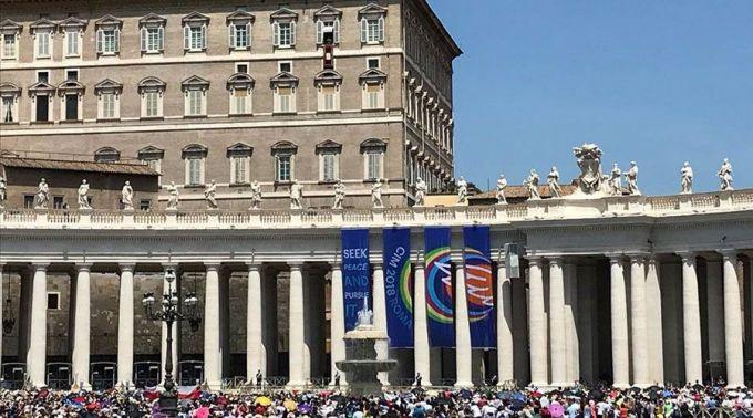 ministráns találkozó, Róma, Szent Péter tér