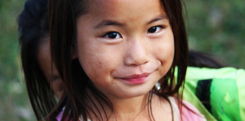 ázsiai kislány