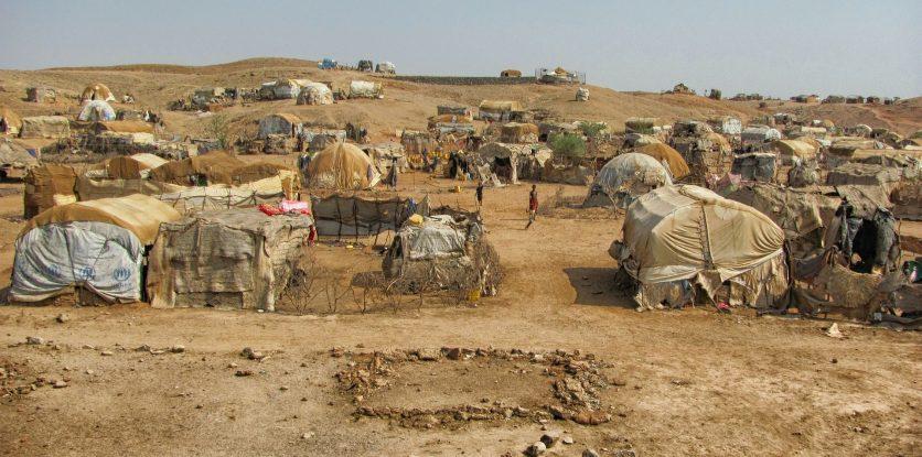 menekült tábor