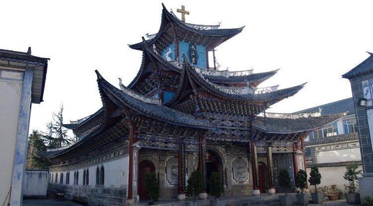 kínai katolikus templom