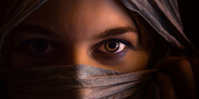 arab női arc
