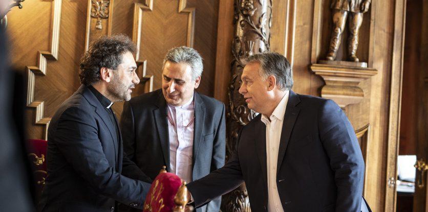 Joseph Kassab és Orbán Viktor