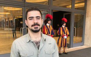 Safa Al Alqoshy standing