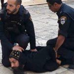 Tüntető kopt szerzetesek ellen léptek fel az izraeli hatóságok