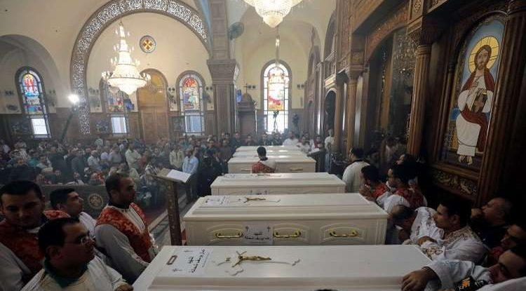 egyiptom kopt temetés
