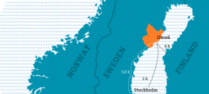 location of Umea