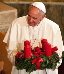 Pope standing