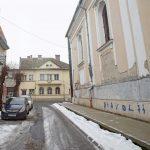 A templom falára festették az ördögöt Marosvásárhelyen