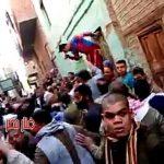 Ezer iszlamista támadott meg egy kopt templomot